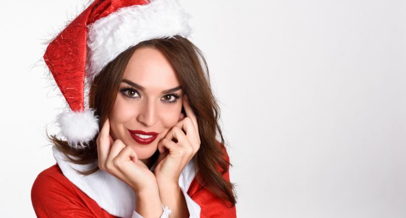 Christmas Beauty Salon.Get Ready For An Enchanting Christmas Beauty Makeover With